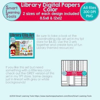 Library Digital Paper - Color