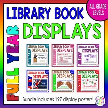 Library Display Posters Bundle