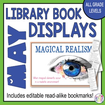 Library Display Posters May