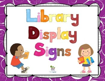 Library Display Signs