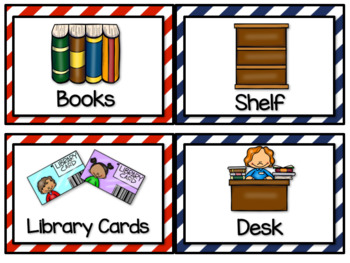 Library Dramatic Play Kit