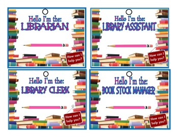 Library Dramatic Play Lesson & Printable Props