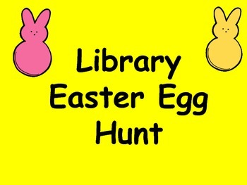 Library Easter Egg Book Hunt