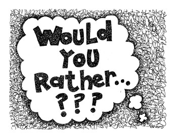Library Edition of Would You Rather...