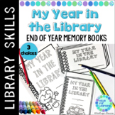 Library End of the Year Memory Book Distance Learning
