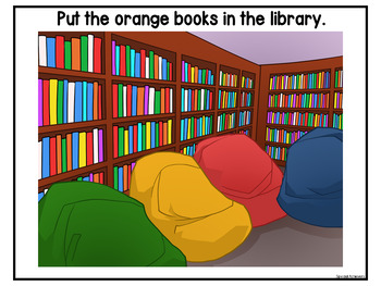 Library Errorless Activities and Worksheets