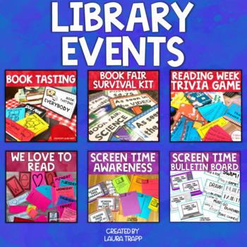 Library Events Bundle