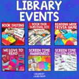 Library Events Bundle