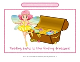 Library Fairy or Book Fairy - Library and reading resource to encourage kids