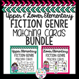 Library Fiction Genre Matching Cards BUNDLE