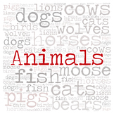 Library Fiction Genre Sign:  ANIMALS