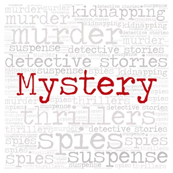Library Fiction Genre Sign:  MYSTERY