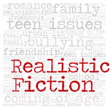 Library Fiction Genre Sign:  REALISTIC FICTION