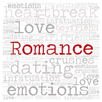 Library Fiction Genre Signs:  ROMANCE