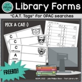 Library Forms | CAT Tags for OPAC Searches
