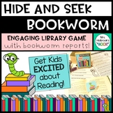 Library Game: Hide and Seek Bookworm