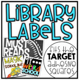 Library Genre Labels {EDITABLE}