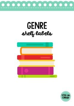 Genre Shelf Labels