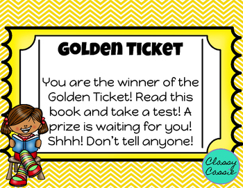 Library Golden Ticket
