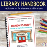 Library Handbook for Teachers | Elementary