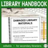Library Handbook for Teachers Secondary Version