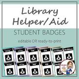 Library Helper Aid Badges
