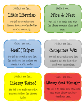 Library Helper Badges