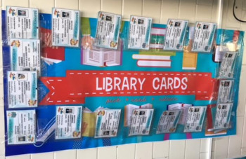 Library ID Card Poster