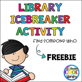 Library Icebreaker Activity - FREE