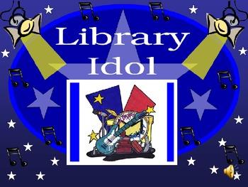 Library Idol Orientation In Jeopardy Format