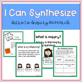 Inquiry Research in the Library - No Prep Printables