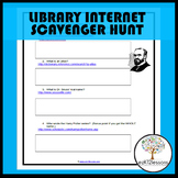 Library Internet Scavenger Hunt
