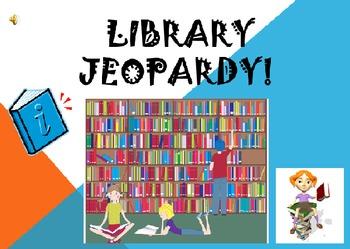 Library Jeopary/Literature Jeopardy