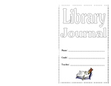 Library Journal:  Journal Book for Read Aloud Responses 4th 5th 6th Grades