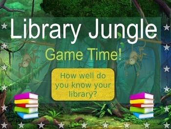 Library Jungle: Orientation