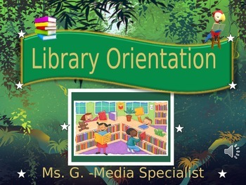 Library Jungle: Orientation