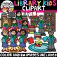 Library Kids Clipart {School Clipart}