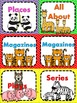 Library Labels Animal Theme