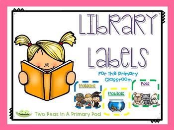Primary Classroom Library Labels