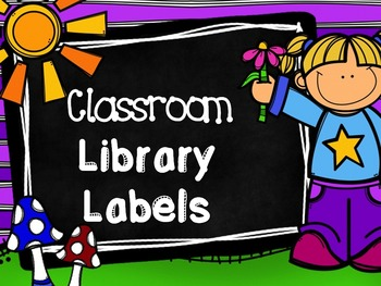 Library Labels - American and Canadian
