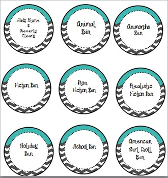 Library Labels-Editable/Blank Pages Included!