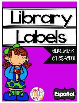 Library Labels SPANISH