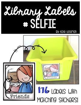 Library Labels - #Selfie