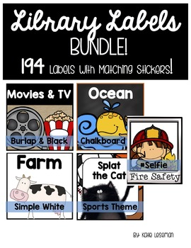Library Labels - The Bundle!