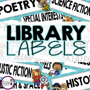 Library Labels {by GENRE}