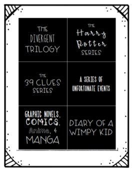 Library Labels by Popular Series and Genre!
