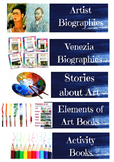 Library Labels for Art Class