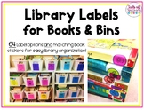 Library Labels for Books and Bins