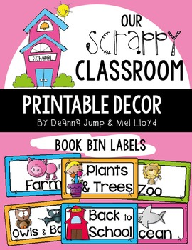 Library Labels for Classroom Library  EDITABLE