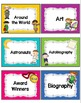 Library Labels for Classroom Library Organization by Genre and Leveled Readers